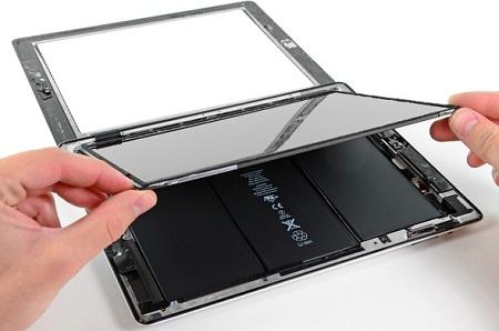 Thay màn hình cảm ứng ipad 2 3 4 5 air tại nhà hà nội